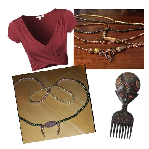 beads fashion spread